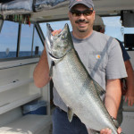 <h1>Lake Ontario King Salmon & Trout Charters</h1><h3>Fish for King Salmon, Brown Trout, Steelhead and Lakers on Lake Ontario</h3>