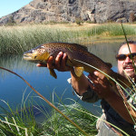 <h1>Patagonia Fishing for Rainbows and Browns</h1><h3>Give Chile a try and fish in beautiful South America</h3>