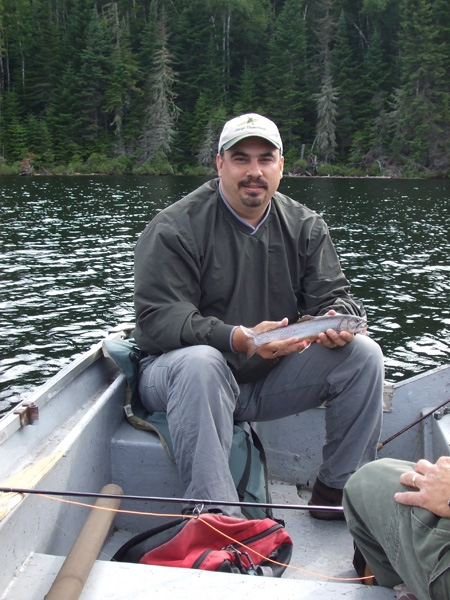 Remote Small Pond Fishing In Quebec